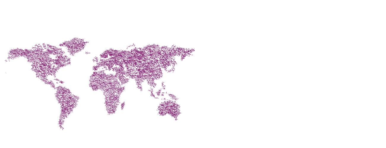 Weltkarte - seit 2002